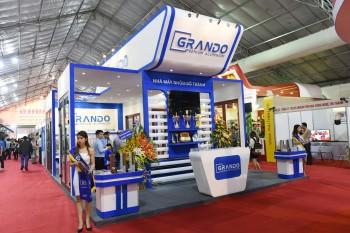 Tham khảo một số hình ảnh các gian hàng triển lãm tại Việt Nam