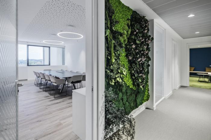 3 công trình văn phòng xanh tại ý