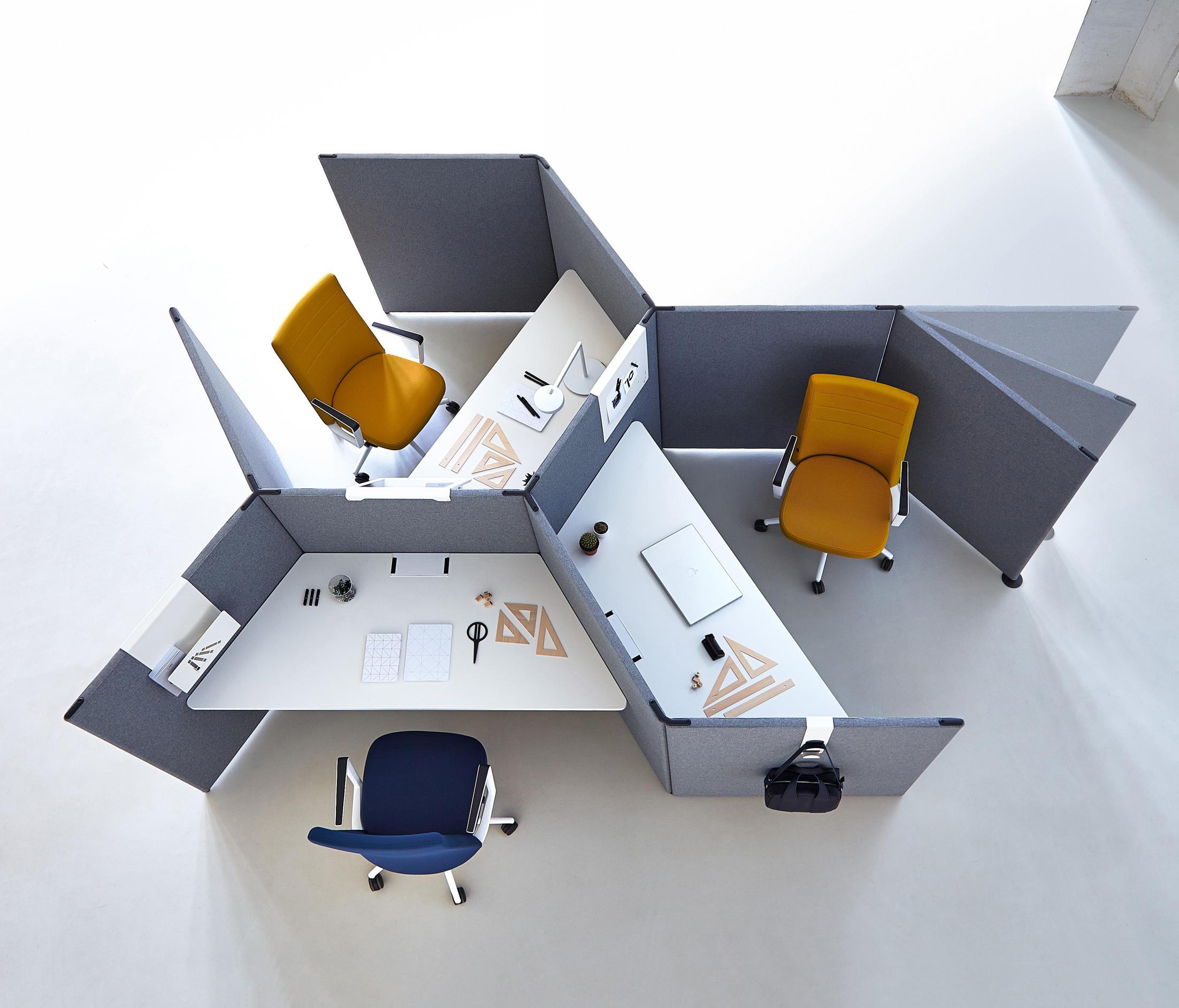 Một số kiểu bàn văn phòng hiện đại theo xu thế năm 2019