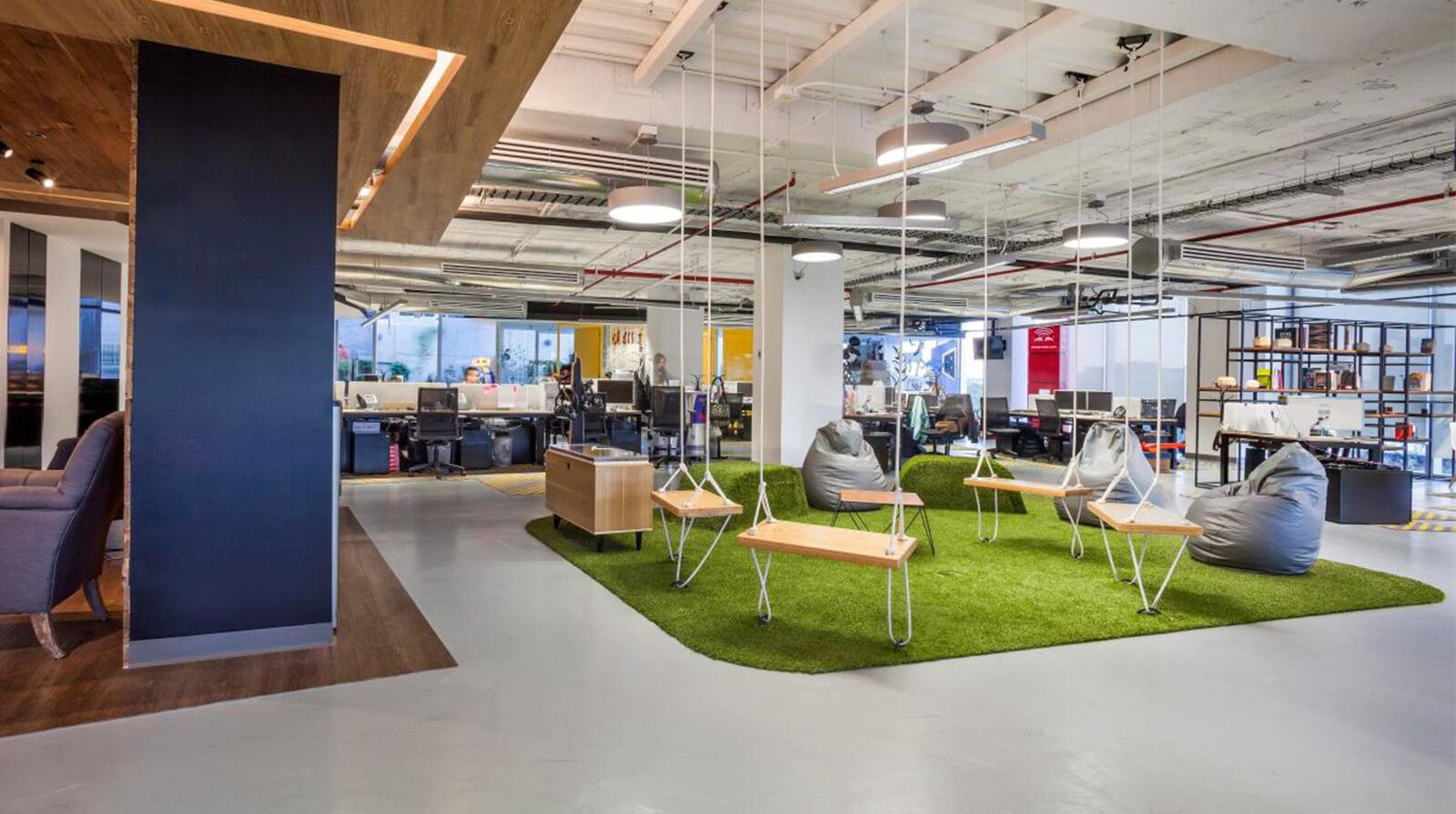Phong cách nội thất văn phòng eco và những đặc trưng cơ bản
