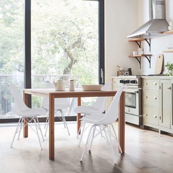 15 mẫu ghế kết hợp với bàn ăn hiện đại