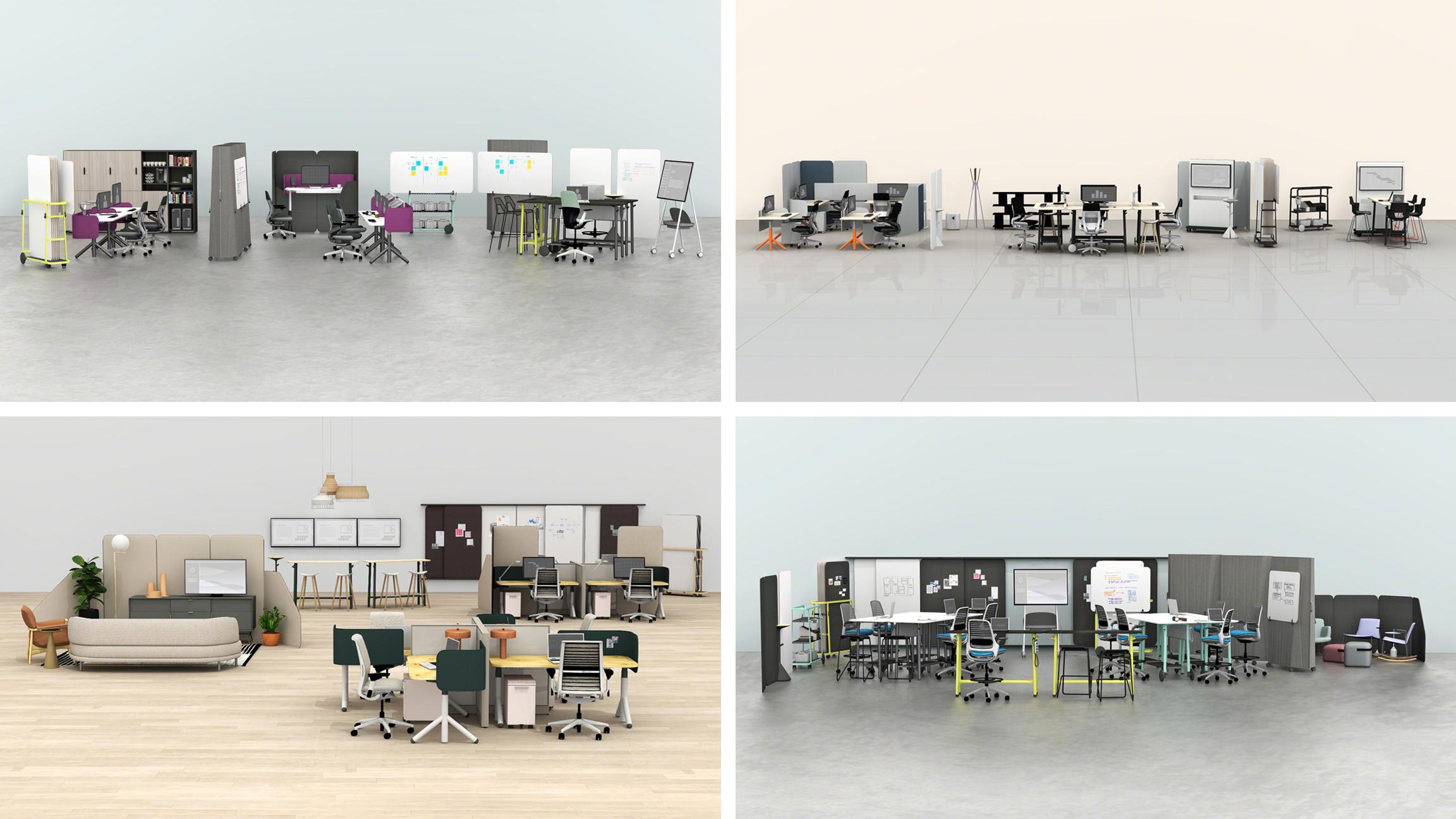 Tham khảo sản phẩm nội thất văn phòng linh hoạt