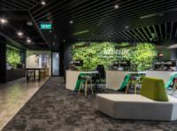 Tham khảo văn phòng xanh hãng bảo hiểm Manulife tại Singapore