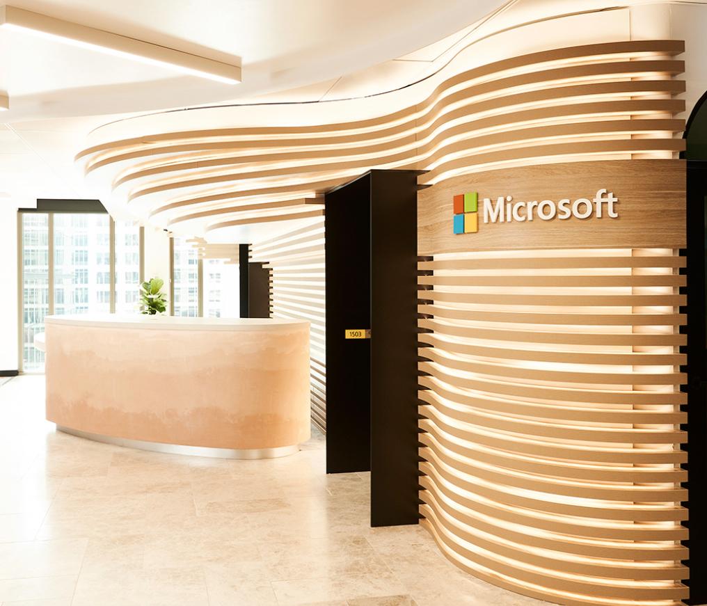 Tham khảo thiết kế văn phòng trung tâm Công nghệ Microsoft tại Sydney
