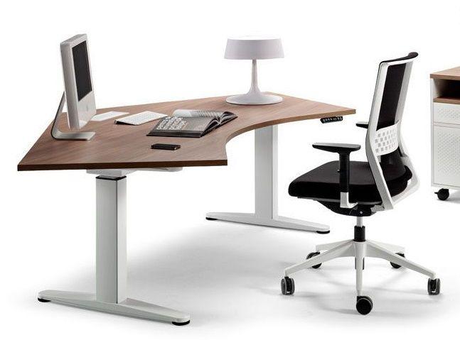 Giới thiệu bàn làm việc đơn có thể điều chỉnh chiều cao