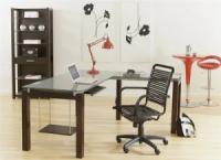 Một số bàn làm việc kính cho văn phòng hiện đại