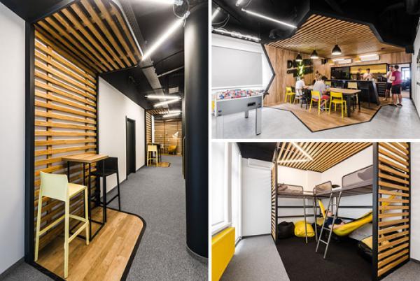 Góc nhìn mới về thiết kế văn phòng mở hiện đại
