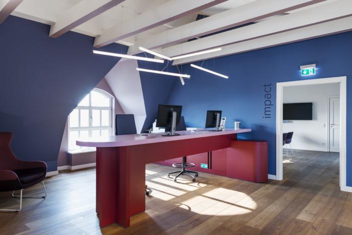 Tham khảo văn phòng Netlight theo phong cách hiện đại ở Đức