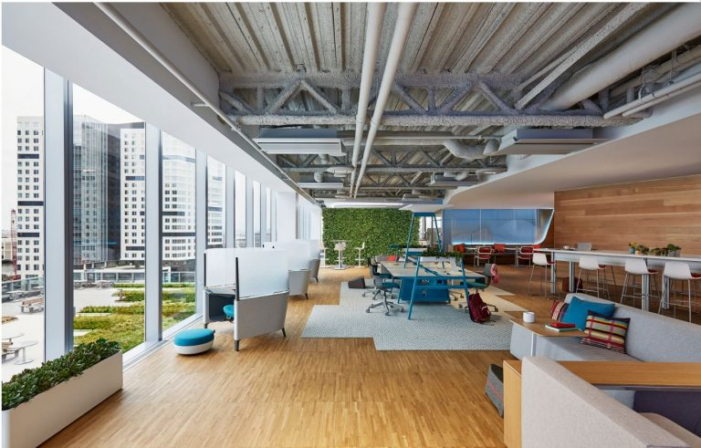 Thiết kế văn phòng lấy con người làm trung tâm