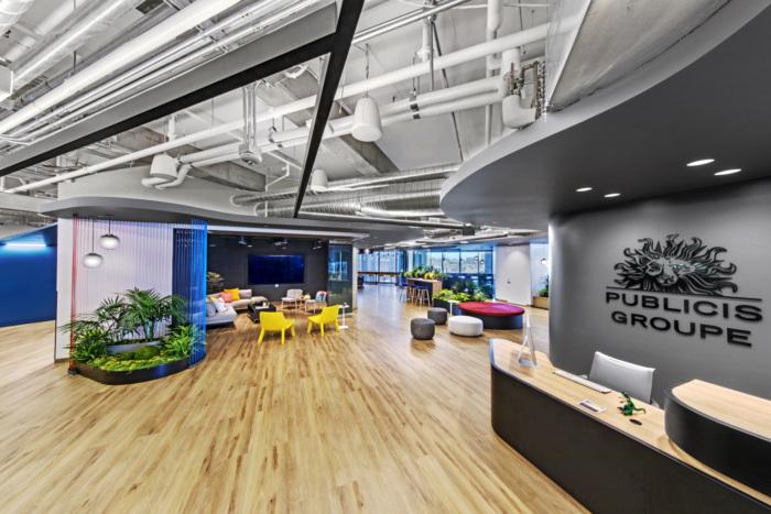 Tham khảo thiết kế văn phòng Publicis Groupe