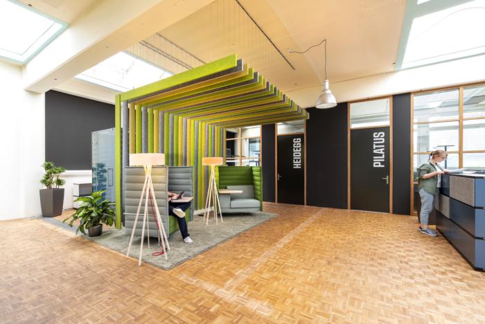 Sử dụng mầu nâu đất trong thiết kế nội thất văn phòng