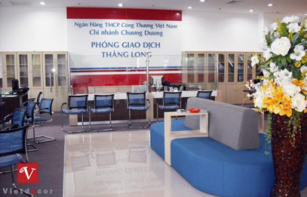 Lưu ý khi thiết kế văn phòng ngành ngân hàng