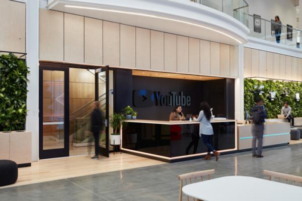 Tham khảo thiết kế văn phòng của trụ sở YouTube ở San Bruno