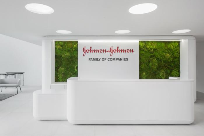 Tham khảo thiết kế nội thất văn phòng Johnson & Johnson ở Nga