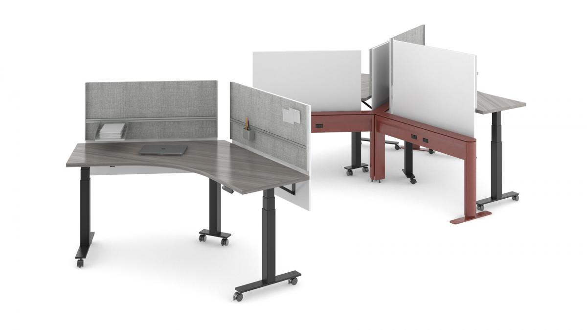 Sản phẩm nội thất công thái học giúp hợp tác làm việc
