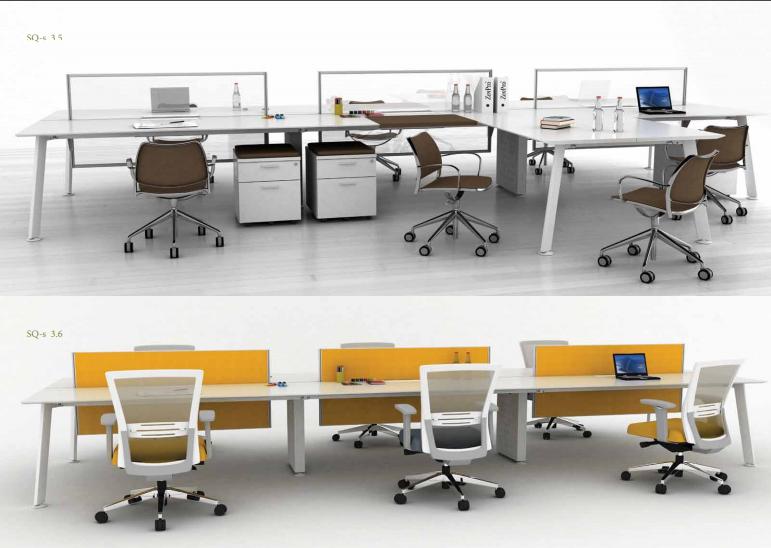 Sản phẩm nội thất bàn làm việc văn phòng hãng ZenPro