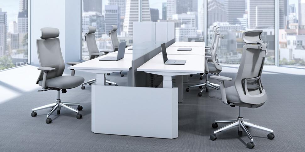Lắp đặt sản phẩm nội thất công thái học văn phòng