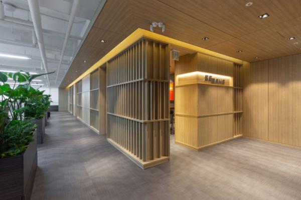 Tham khảo thiết kế văn phòng SEBANG ở Seoul - Hàn Quốc