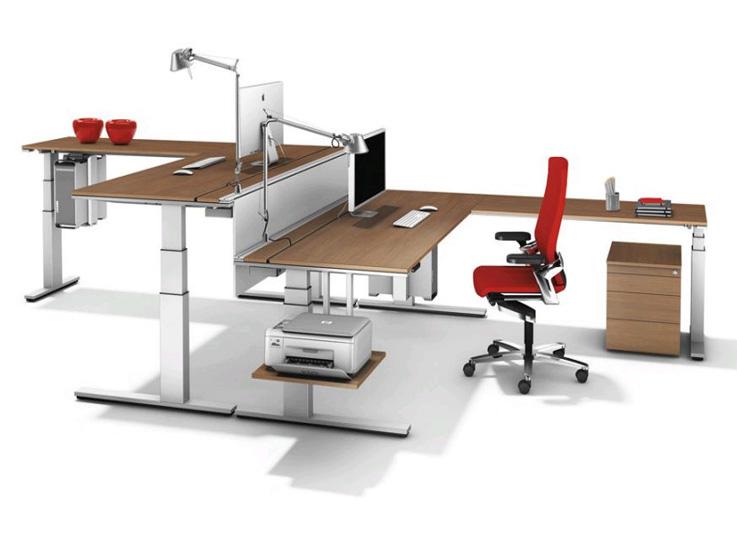 Mẫu bàn văn phòng tùy chỉnh độ cao