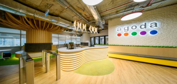 Thiết kế văn phòng Agoda đặt tại Kuala Lumpur Malaysia.