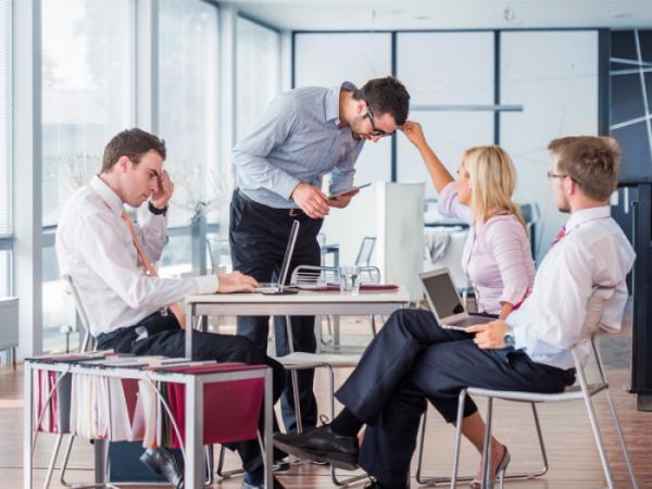 Cải thiện không gian cộng tác trong văn phòng