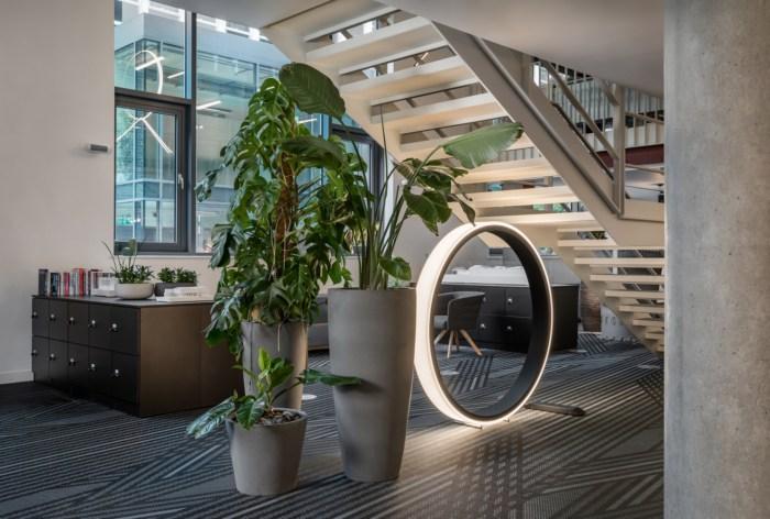Tham khảo thiết kế văn phòng Oktra Clerkenwell – London