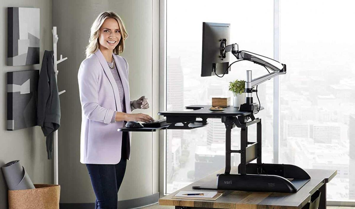 Một số kiểu bàn thay đổi trạng thái mini cho văn phòng