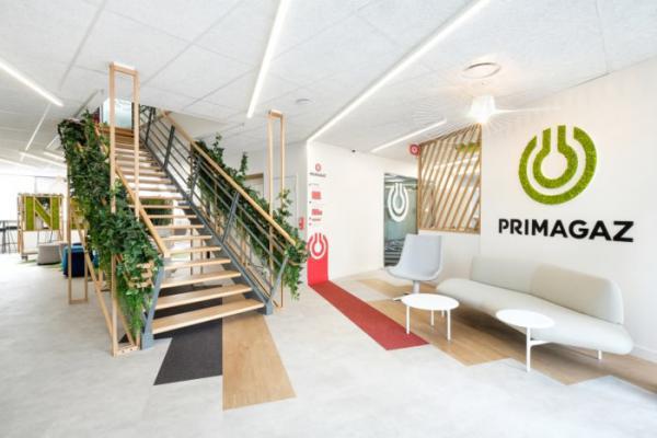 Tham khảo thiết kế văn phòng xanh linh hoạt tập đoàn năng lượng Primagaz