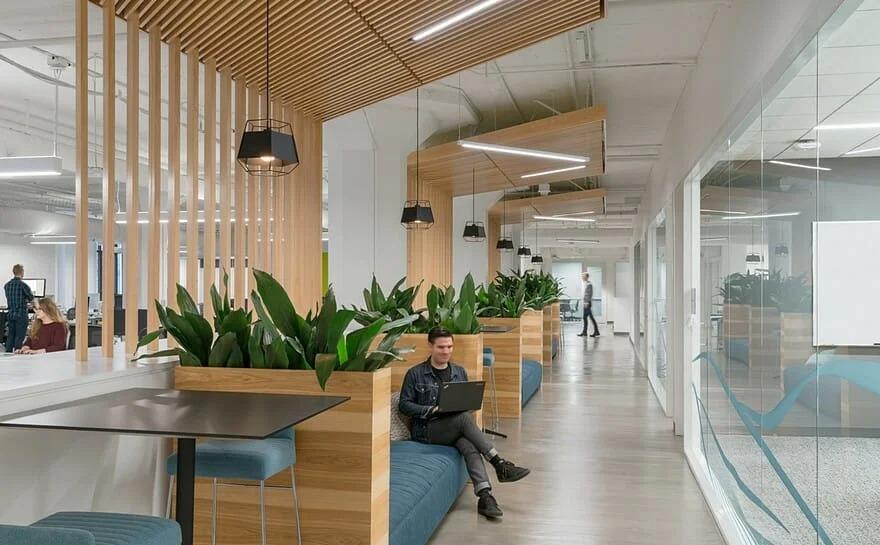 Thiết kế văn phòng hiện đại nhằm thu hút và giữ chân nhân viên giỏi