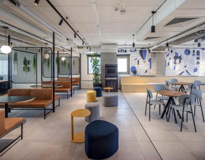 Tham khảo thiết kế nội thất văn phòng Placer.ai tại Ramat Gan, Israel.
