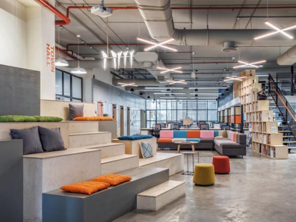 Thiết kế văn phòng làm việc theo xu hướng không gian động là gì?