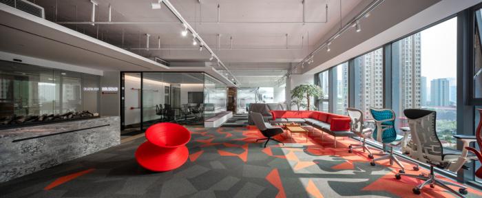 thiết kế phòng trưng bày sản phẩm nội thất