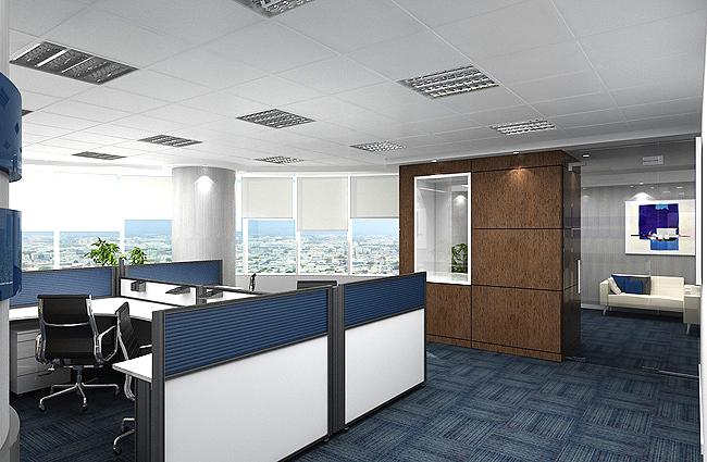 nội thất văn phòng vintage hiện đại