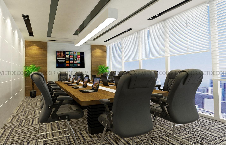 thiết kế thi công nội thất phòng họp