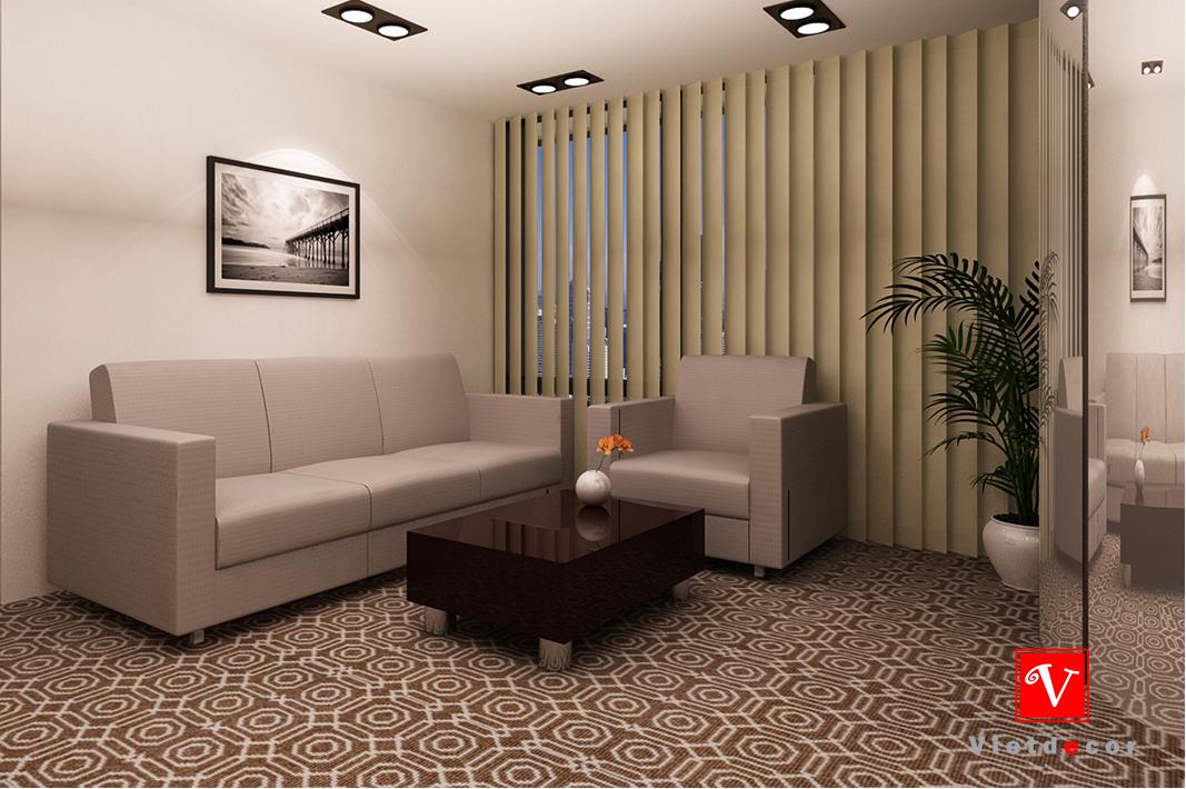 thiết kế nội thất văn phòng phó chủ tịch
