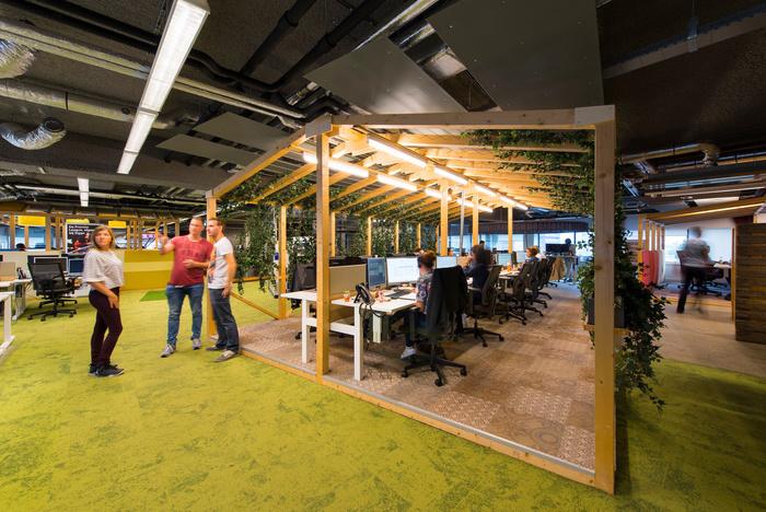 Xu hướng thiết kế văn phòng đẹp năm 2018