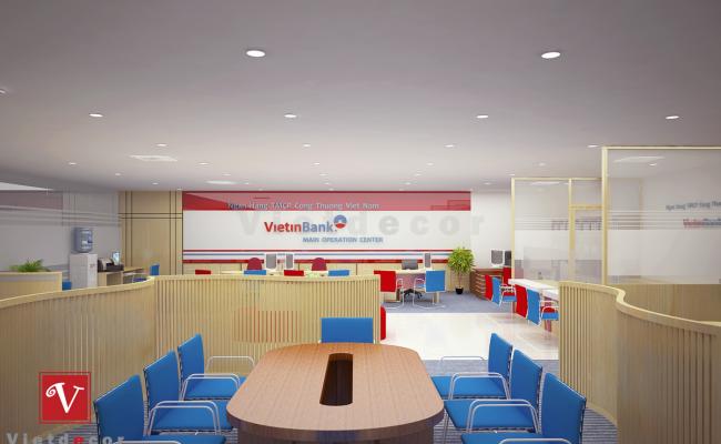 thiết kế thi công nội thất văn phòng 5s