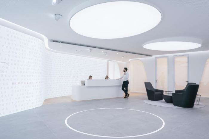 nội thất văn phòng mở hiện đại