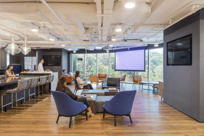 thiết kế thi công nội thất công trình văn phòng
