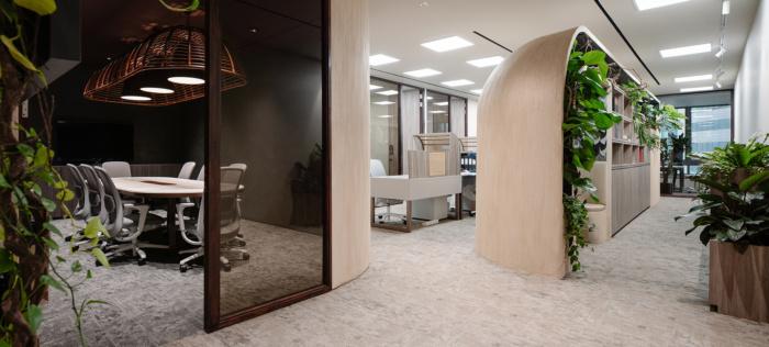 thiết kế thi công văn phòng luật tại hà nội