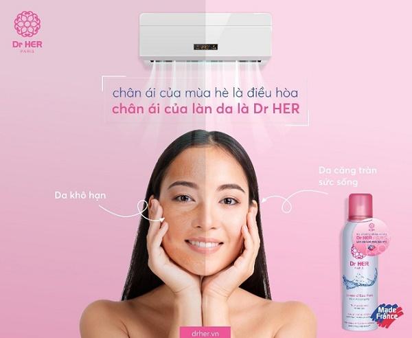 Review xịt khoáng Dr.Her 5
