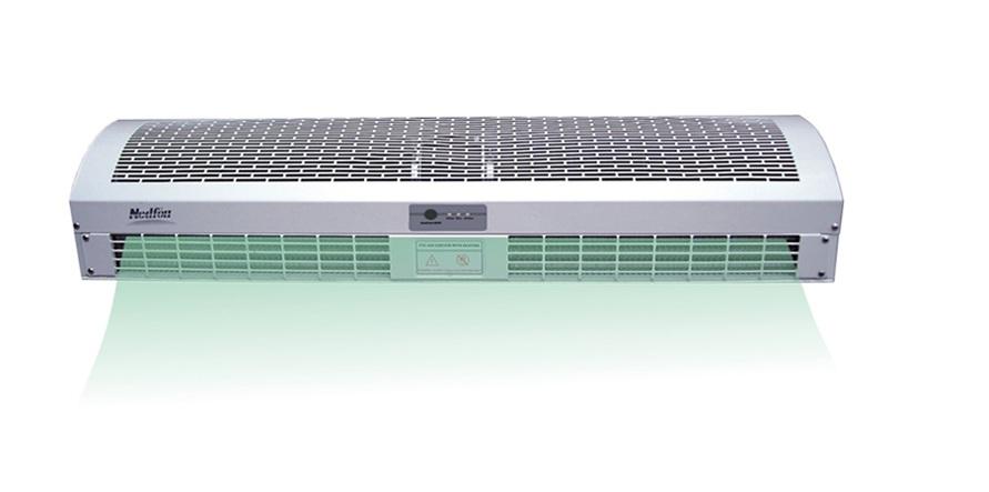 Quạt cắt gió – Giải pháp tốt nhất giúp ngăn thất thoát hơi lạnh ra ngoài trong phòng điều hòa.