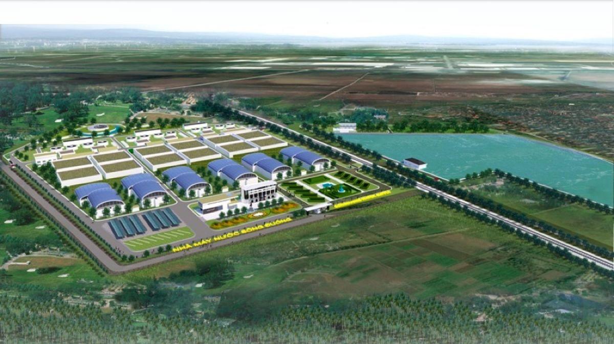 Hình ảnh thi công tại dự án khu Hành chính Nhà máy Nước Sông Đuống
