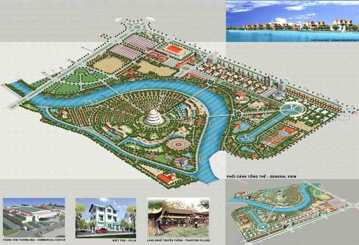 Hình ảnh thi công tại dự án Khu đô thị phía tây Thành phố Hải Dương