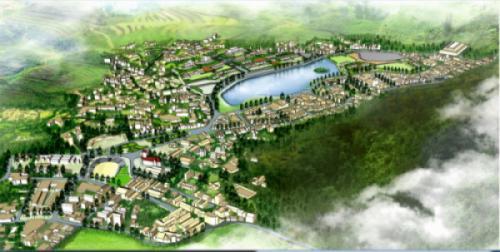 Hình ảnh thi công DA xây dựng và nâng cấp hạ tầng đô thị Sapa