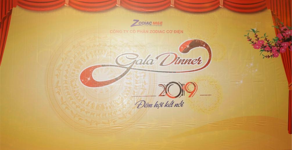 Zodiac Cơ Điện tổ chức tiệc tất niên 2019