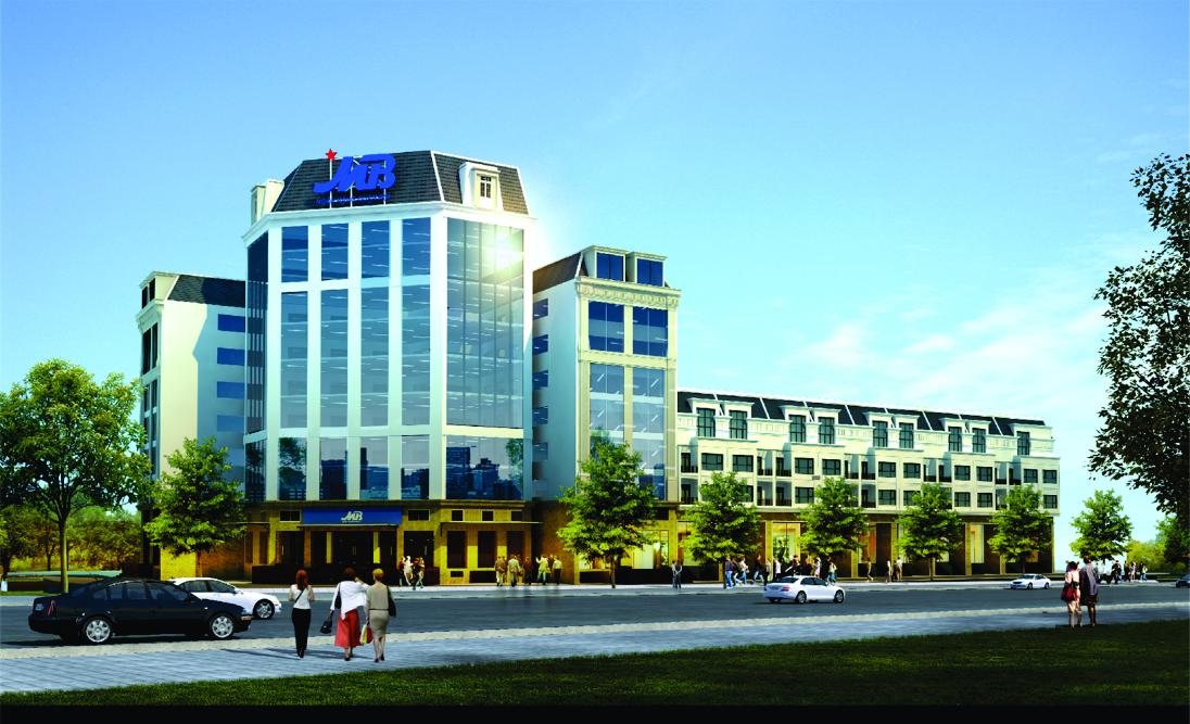 Hình ảnh thi công DA Đầu tư xây dựng Trụ sở làm việc Ngân hàng MB - CN Tây Ninh