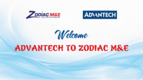 Zodiac M&E hợp tác - làm việc cùng Advantech và Vertiv