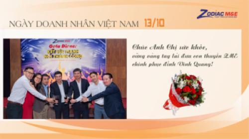 ZME Chúc mừng Ngày Doanh nhân Việt Nam 13/10