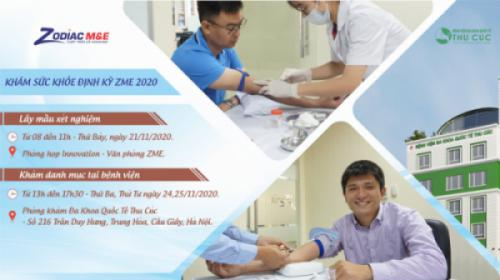 ZME - Khám sức khỏe định kỳ năm 2020
